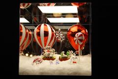 Kerstmis 2018 Milan Galleria Vittorio Emanuele II Swarovski-boom royalty-vrije stock afbeeldingen