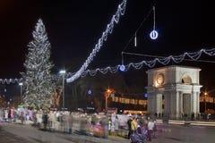 Kerstmis Moldova stock afbeelding