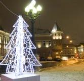 Kerstmis Moskou Stock Fotografie