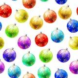 Kerstmis naadloos patroon Royalty-vrije Stock Fotografie
