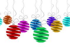 Kerstmis naadloos patroon Stock Foto's