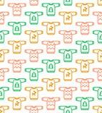 Kerstmis naadloos patroon - Lelijke sweaters Stock Afbeeldingen