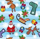 Kerstmis naadloze achtergrond. Royalty-vrije Stock Afbeelding