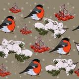 Kerstmis naadloze textuur. royalty-vrije illustratie