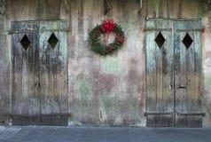 Kerstmis in New Orleans Stock Foto's