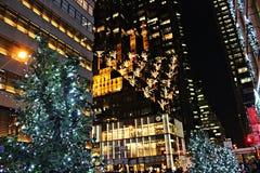 Kerstmis in New York Royalty-vrije Stock Foto