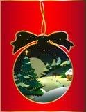 Kerstmis, nieuw jaar, achtergrond Stock Afbeelding