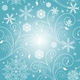 Kerstmis, nieuw jaar, achtergrondvector Royalty-vrije Stock Afbeeldingen