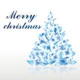 Kerstmis of nieuwe jaarboom Stock Afbeelding