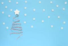 Kerstmis of Nieuwjaar het concept van de groetkaart Royalty-vrije Stock Afbeeldingen