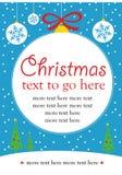 Kerstmis nodigt uit Royalty-vrije Stock Fotografie