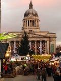 Kerstmis in Nottingham Royalty-vrije Stock Fotografie