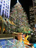 KERSTMIS IN NYC Stock Foto