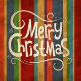 Kerstmis oude achtergrond Stock Foto