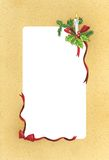 Kerstmis-Painting2 Royalty-vrije Stock Fotografie