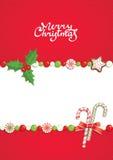 Kerstmis post Stock Afbeelding