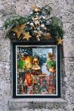 Kerstmis in Salzburg, Oostenrijk, Europa Stock Afbeelding