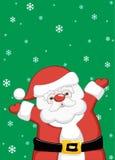 Kerstmis Santa Claus Stock Foto
