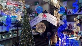 Kerstmis, seizoen, het verfraaien royalty-vrije stock afbeelding