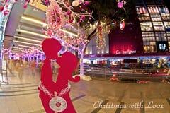 Kerstmis in Singapore Stock Fotografie