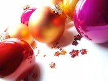 Kerstmis snuisterijen Stock Afbeelding