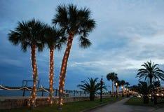 Kerstmis in St. Augustine Royalty-vrije Stock Foto's