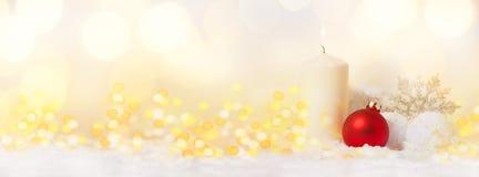 Kerstmis/1st Komst Stock Foto