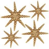 Kerstmis Stars02 Royalty-vrije Stock Foto's