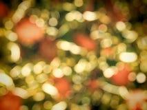 Kerstmis steekt bokeh achtergrond aan royalty-vrije stock fotografie