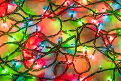 Kerstmis steekt koord aan Royalty-vrije Stock Afbeelding