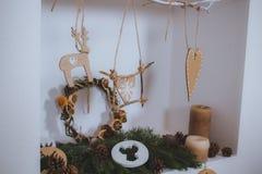 Kerstmis stelt en speelgoed voor Royalty-vrije Stock Foto