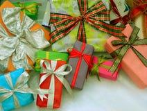 Kerstmis stelt voor Stock Foto