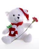 Kerstmis Teddy Stock Afbeeldingen