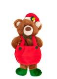 Kerstmis Teddy Bear Royalty-vrije Stock Fotografie