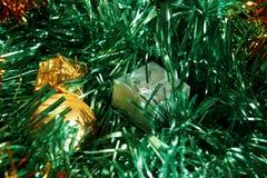 Kerstmis is tijd voor giften Stock Afbeelding