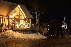 Kerstmis Toneel Stock Foto