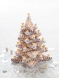 Kerstmis tre Royalty-vrije Stock Afbeelding