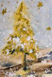 Kerstmis tree#06 vector illustratie