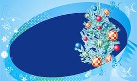 Kerstmis tree1 Royalty-vrije Stock Afbeelding