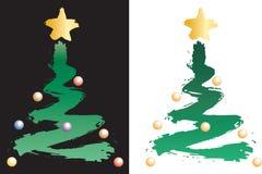 Kerstmis tree16807 Stock Afbeeldingen