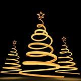 Kerstmis tree5 Stock Afbeeldingen