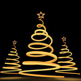 Kerstmis tree5 royalty-vrije illustratie