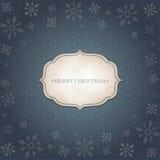 Kerstmis uitstekende achtergrond Royalty-vrije Stock Foto's