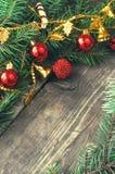 Kerstmis uitstekende achtergronden Royalty-vrije Stock Afbeeldingen