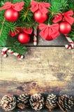 Kerstmis uitstekende achtergronden Royalty-vrije Stock Fotografie