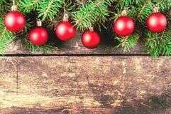 Kerstmis uitstekende achtergronden Stock Afbeeldingen