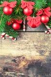 Kerstmis uitstekende achtergronden Royalty-vrije Stock Afbeelding