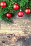 Kerstmis uitstekende achtergronden Stock Afbeelding