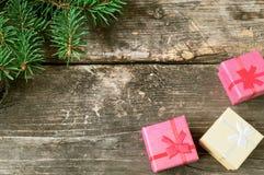 Kerstmis uitstekende achtergronden Stock Foto's