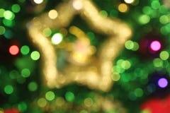 Kerstmis Vakantie Bokeh Royalty-vrije Stock Afbeelding
